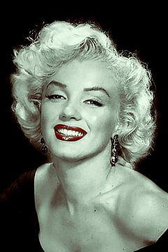 Marilyn Monroe Porträt von Gert Hilbink