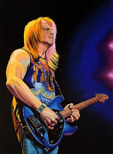 Steve Morse Schilderij van Paul Meijering