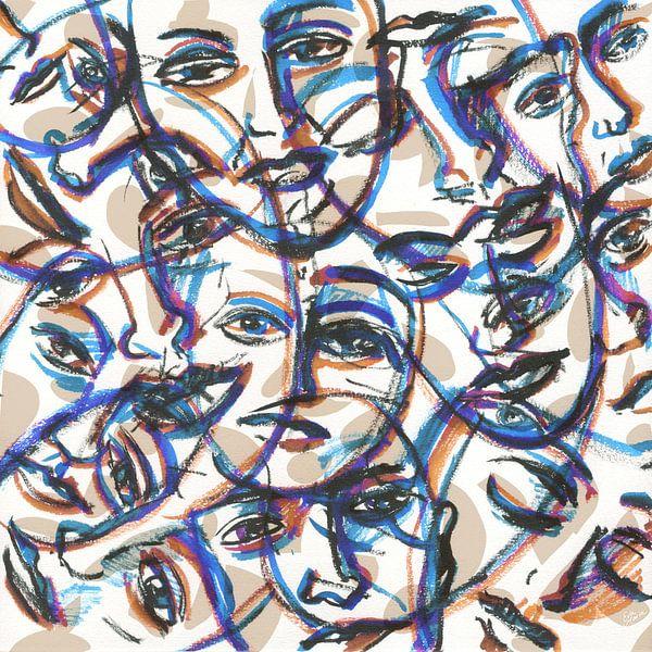 Menigte van ART Eva Maria