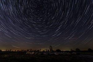 Cirkels in de nacht - sterrensporen