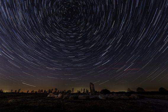 Cirkels in de nacht - sterrensporen van Karla Leeftink
