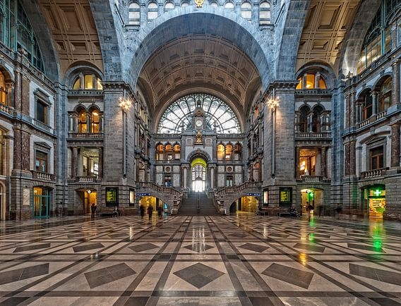 Portaal kathedraal | Centraal Station | Antwerpen