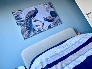 Klantfoto: Peacocks in Paradise van Andrea Haase