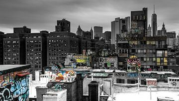 Blick von der Manhattan Bridge von Kurt Krause