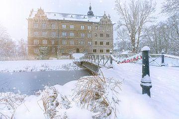 Slot Wolfsburg in de sneeuw van Marc-Sven Kirsch