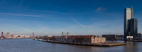 Noordereiland Rotterdam van