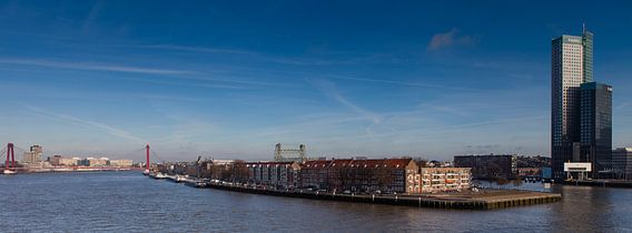 Noordereiland Rotterdam van Paul Kampman