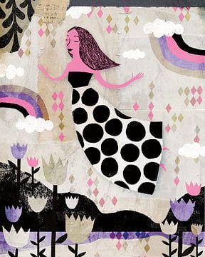 Lucy im Himmel, Rosa, Lila, Michael Mullan von Wild Apple