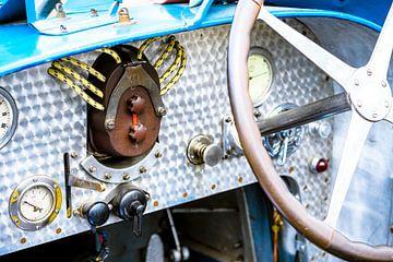 Bugatti Type 35 vintage 1920s racewagen dashboard van Sjoerd van der Wal