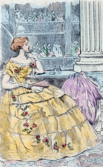 Mode 1857, Mode in het negentiende-eeuwse Parijs, Henri Boutet, (1851 1919)