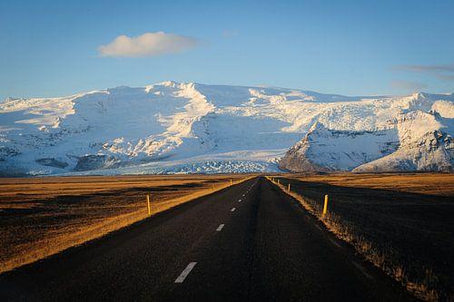Weg naar de berg