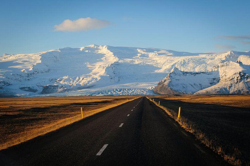 Road to the mountain sur Sjoerd Mouissie