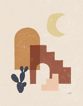 Desert Arches I, Moira Hershey van Wild Apple