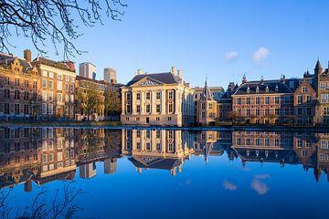 Mauritshuis und Binnenhof in Den Haag von Maurice Haak