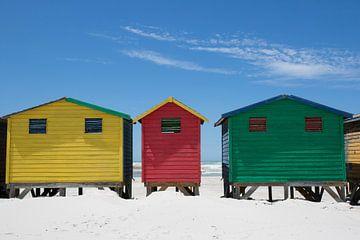 Gekleurde standshuisjes 3 van Jolanda van Eek