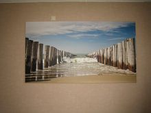Kundenfoto: Strand, Dünen und Wind von Arjan van Duijvenboden