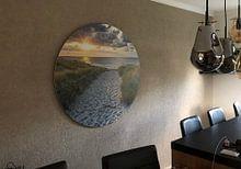 Kundenfoto: Strandaufgang Texel von Justin Sinner Pictures ( Fotograaf op Texel), als rundes bild