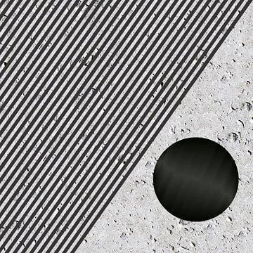 Cijfers en vormen - cirkels en strepen van Christine Nöhmeier