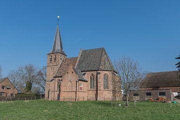 Kerkje in Persingen, Ooijpolder bij Nijmegen