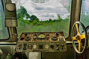 Oude trein van Marcel Henderik