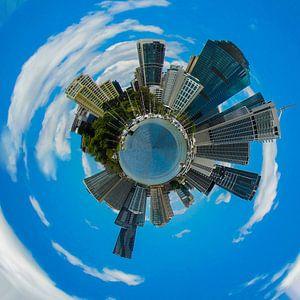 Kleine Planeet van Brisbane, Australië van