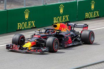 Max Verstappen tijdens de Grand Prix van Canada 2018 (Formule 1) van Stephan Neven