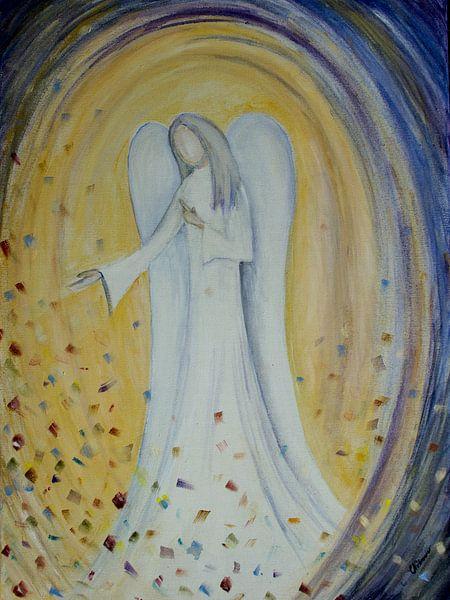 engelen schilderijen van Christine Nöhmeier