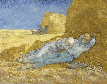 Vincent van Gogh. Rustende boeren van