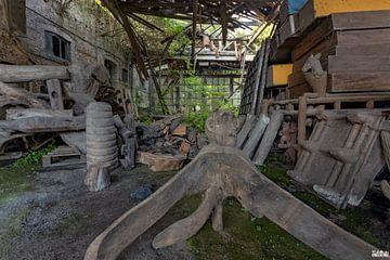 Fabrik für Holzverarbeitung. von Het Onbekende