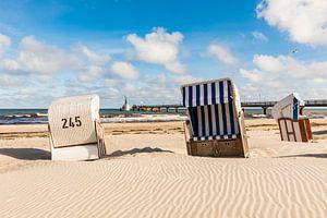 Strandkörbe am Strand von Zingst