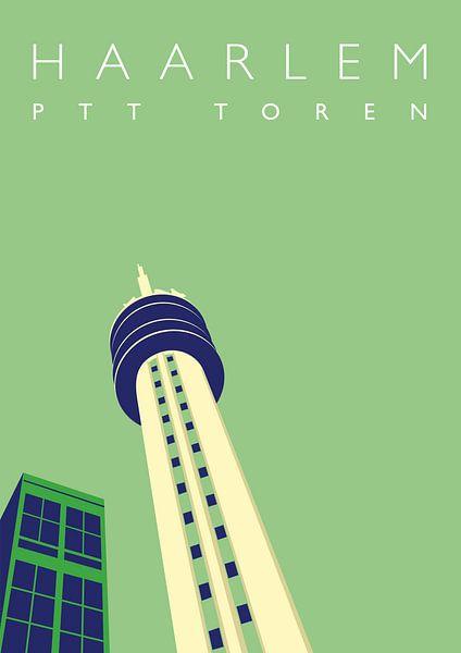 PTT toren Haarlem van Erwin van Wijk