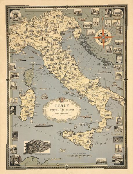 Italië, met Vaticaanstad