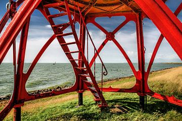 IJsselmeer Stavoren van Harrie Muis