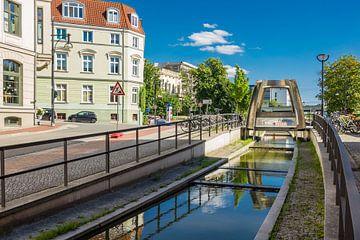 Die Grubenstraße in der Hansestadt Rostock von Rico Ködder