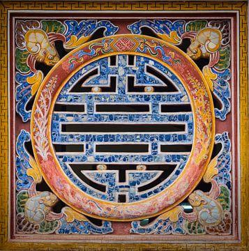 Symbool van eeuwig leven, Vietnam van Rietje Bulthuis