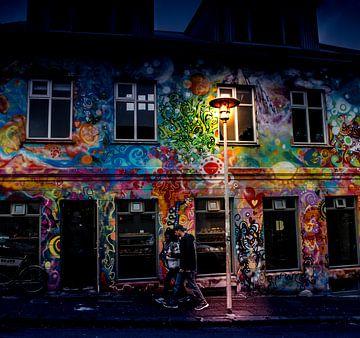 Graffiti-Mauer von Johan Schouls