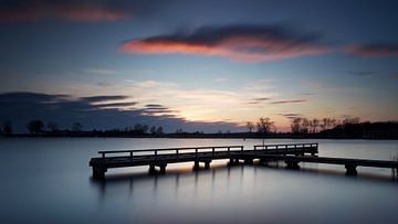 Zonsondergang Steiger #02 van Gerhard Niezen Photography