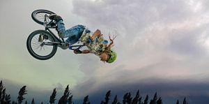 Flying high - salto met de fiets van