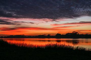 Sonnenuntergang Hiddensee von Dirk Stöckle