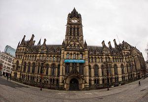 Albert Square Manchester van