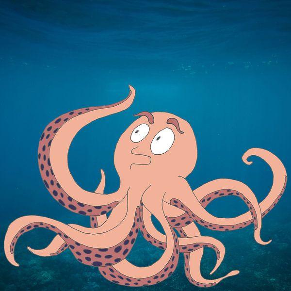Deep Sea Octopus van Dennis Michels