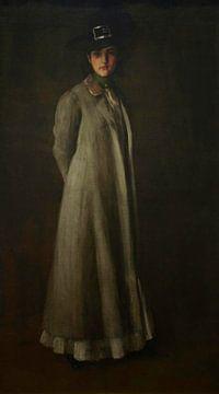 Porträt von Miss D., William Merritt Chase