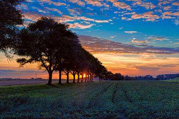 Sonnenuntergang von eric van der eijk