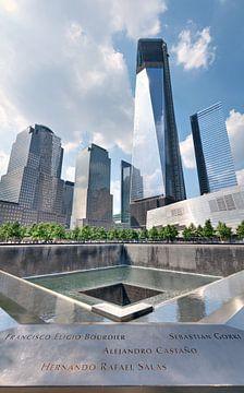 Het 9/11 Memorial von Jeroen Middelbeek