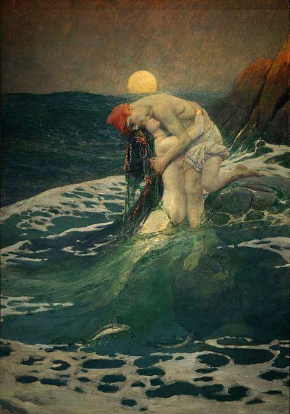 Meerjungfrau, Howard Pyle von Atelier Liesjes