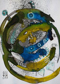 """Phantasie 6 von Janny Schilderink......Atelier """"de Tuute """""""