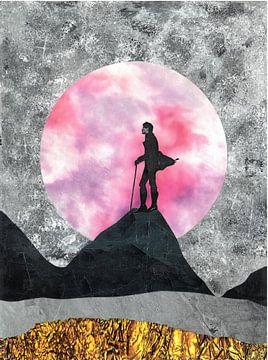 Rosa Mond von Nora Bland