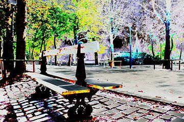 Bankje in het park van Erik Reijnders