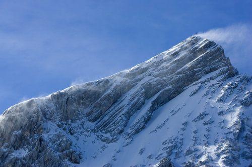 Föhnsturm an der Alpspitze von