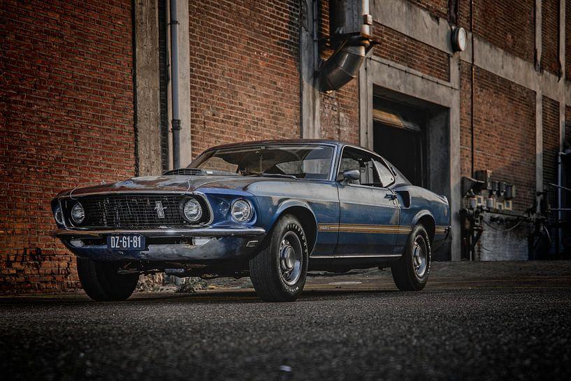1969 Ford Mustang von Aron Nijs